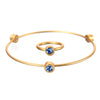 September Sapphire Birthstone Bangle Set - Whitney Howard Designs