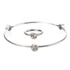 April Diamond Birthstone Bangle Set - Whitney Howard Designs