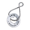 Blessing Ring Keyring