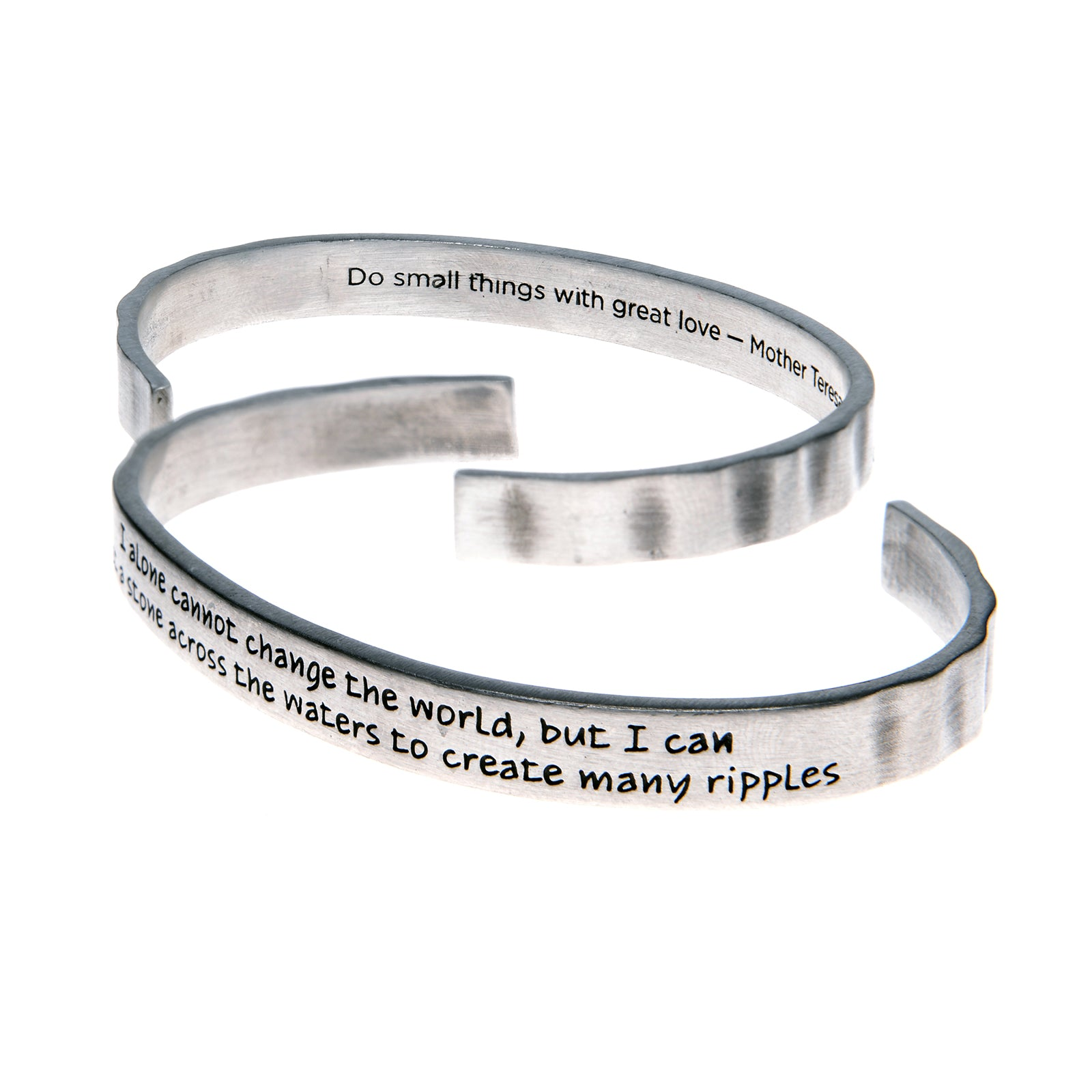 I Alone Cannot Change the World Quotable Cuff