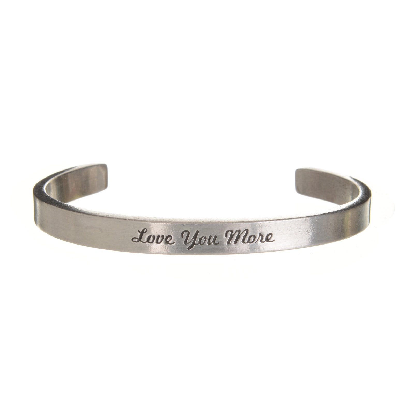 Love You More Quotable Cuff