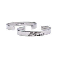 Nevertheless, She Persisted Quotable Cuff Bracelet