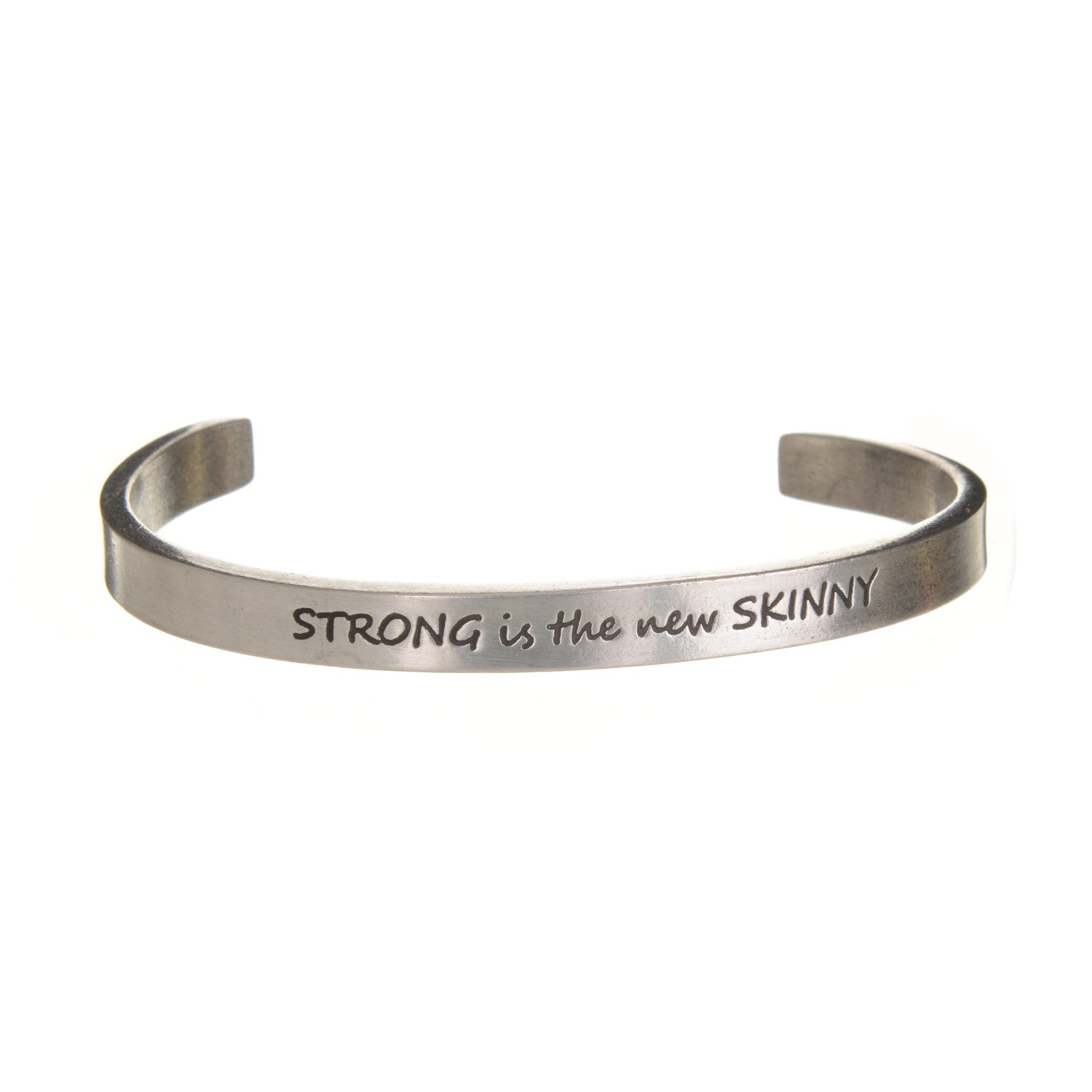 Strong Is The New Skinny. Quotable Cuff - Whitney Howard Designs