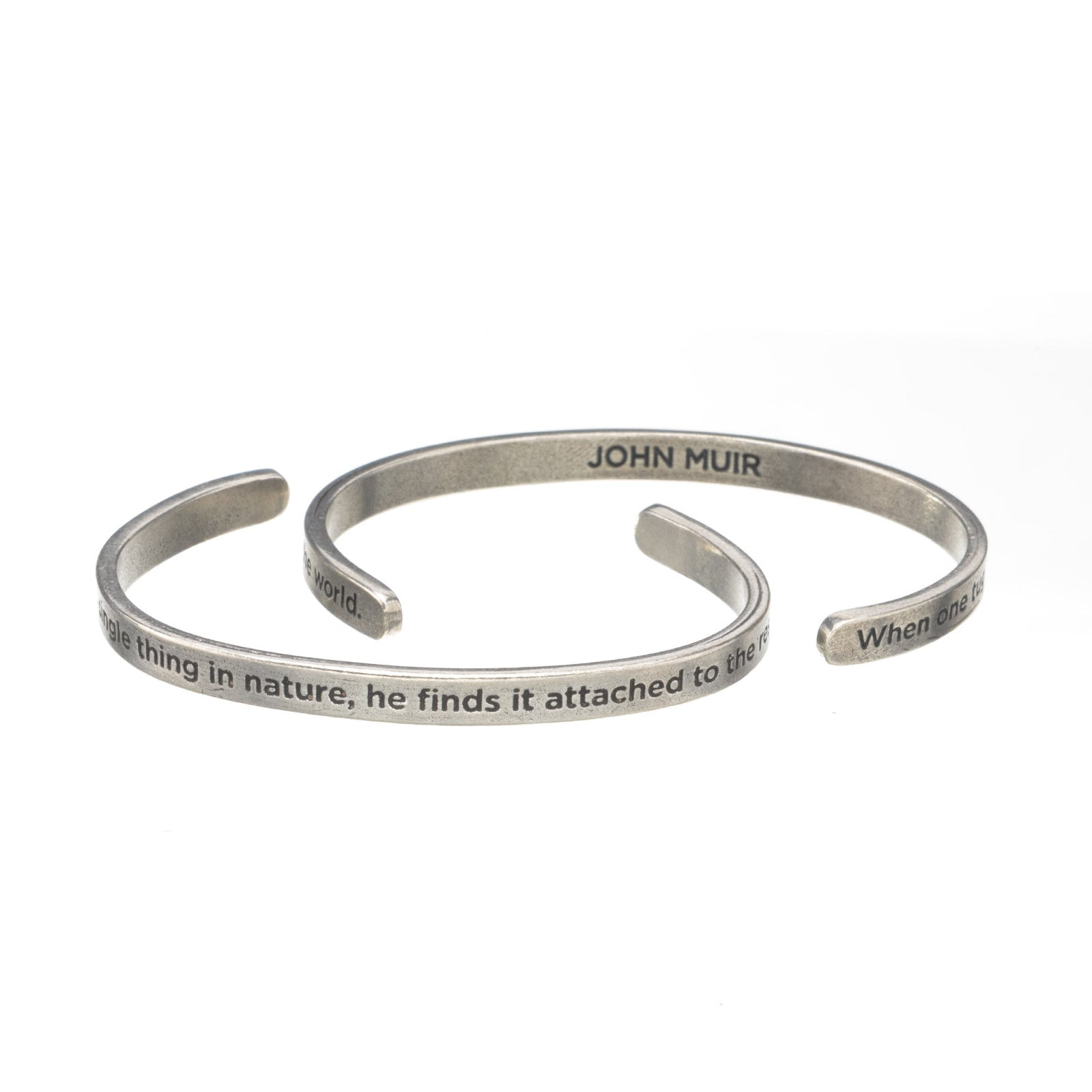 When One Tugs Quotable Cuff - Whitney Howard Designs