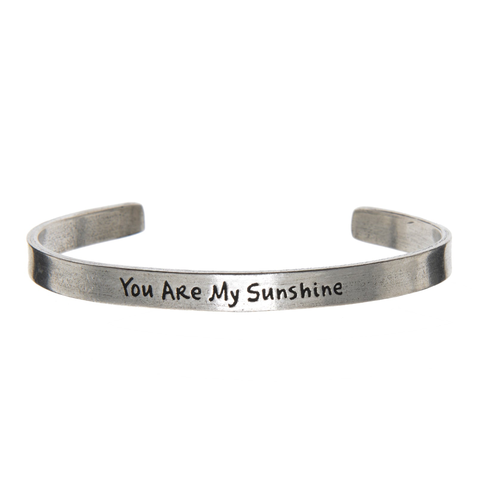 You Are My Sunshine Quotable Cuff Bracelet - Whitney Howard Designs