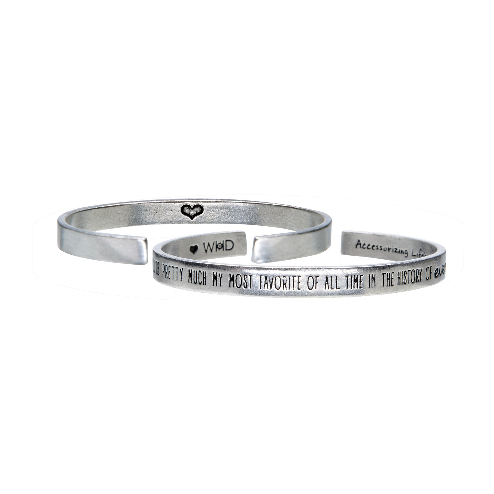 You're Pretty Much Quotable Cuff - Whitney Howard Designs
