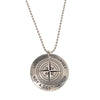 Journey Medallion on Ball Chain Necklace - Whitney Howard Designs