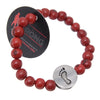 Walking Strong Bracelet - Red ACAI Seeds of Life Bracelets