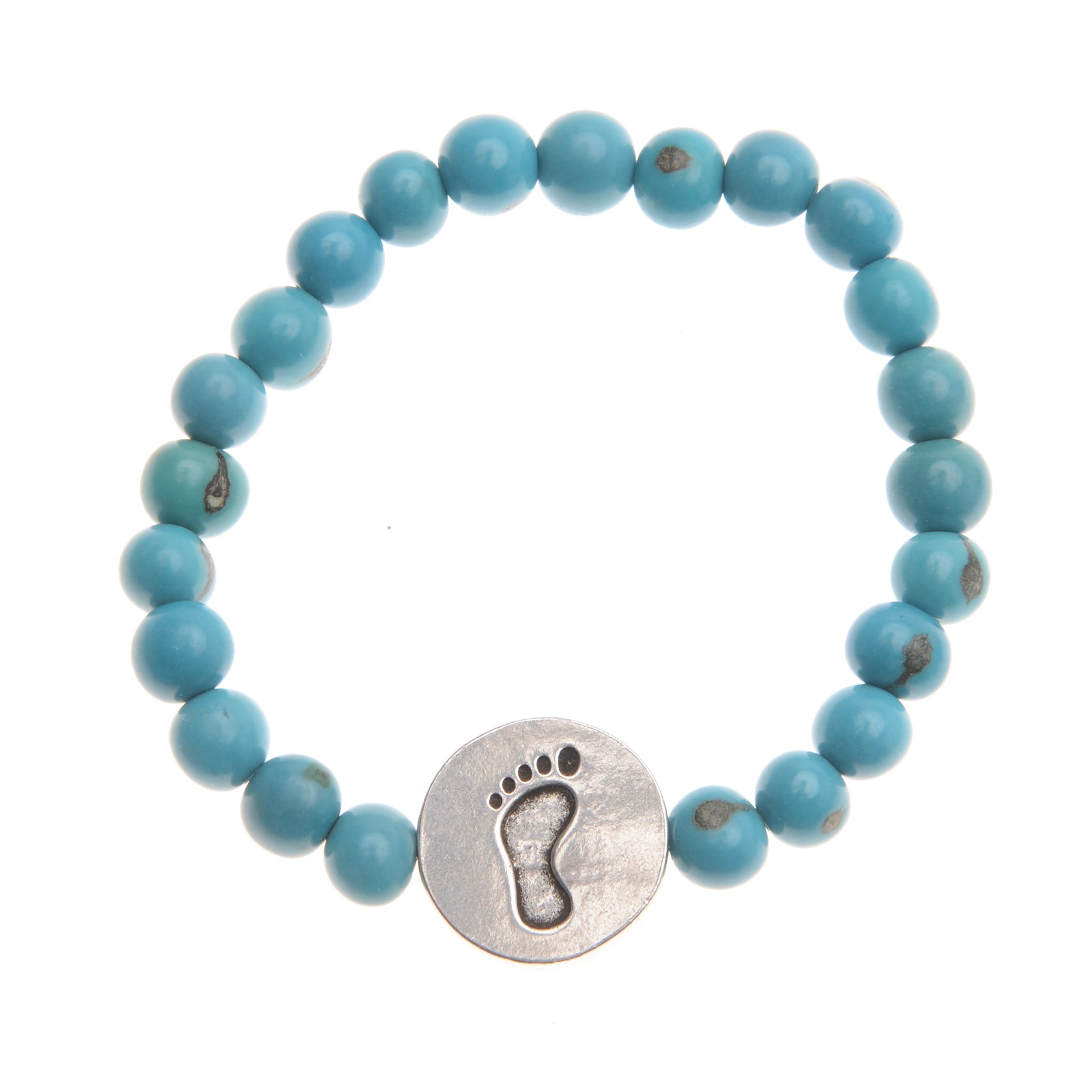 Walking Strong Bracelet - Turquoise ACAI Seeds of Life Bracelets - Whitney Howard Designs