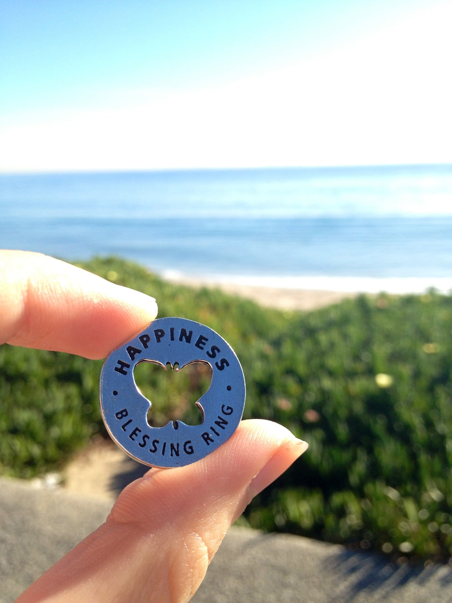 Abundance Blessing Ring (on back - everything under the sun)