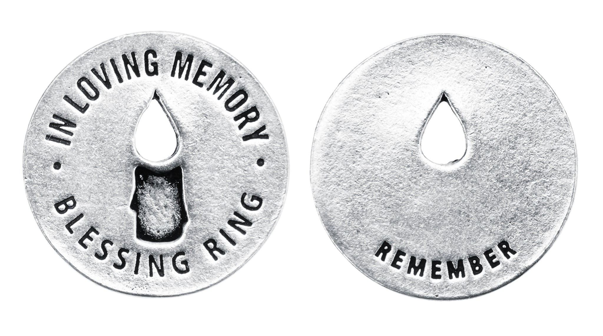 In Loving Memory Blessing Ring (on back - remember) - Whitney Howard Designs