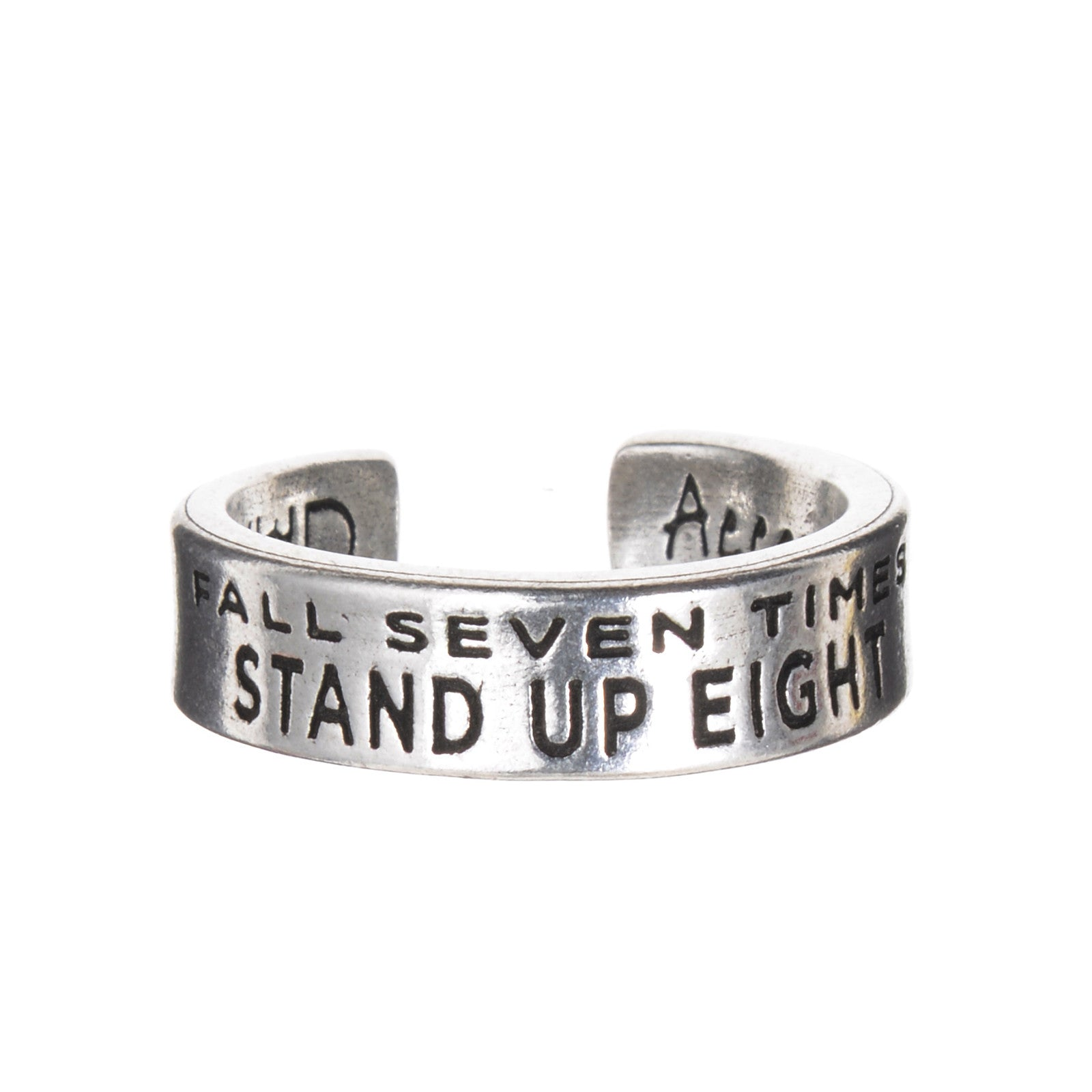 InspireRings - Fall Seven Times, Stand Up Eight - Whitney Howard Designs