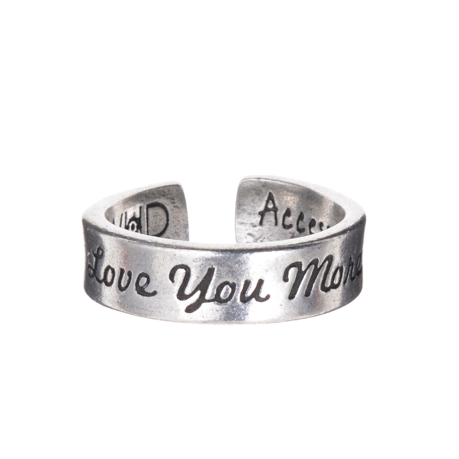 Inspire Rings - Love You More - Whitney Howard Designs