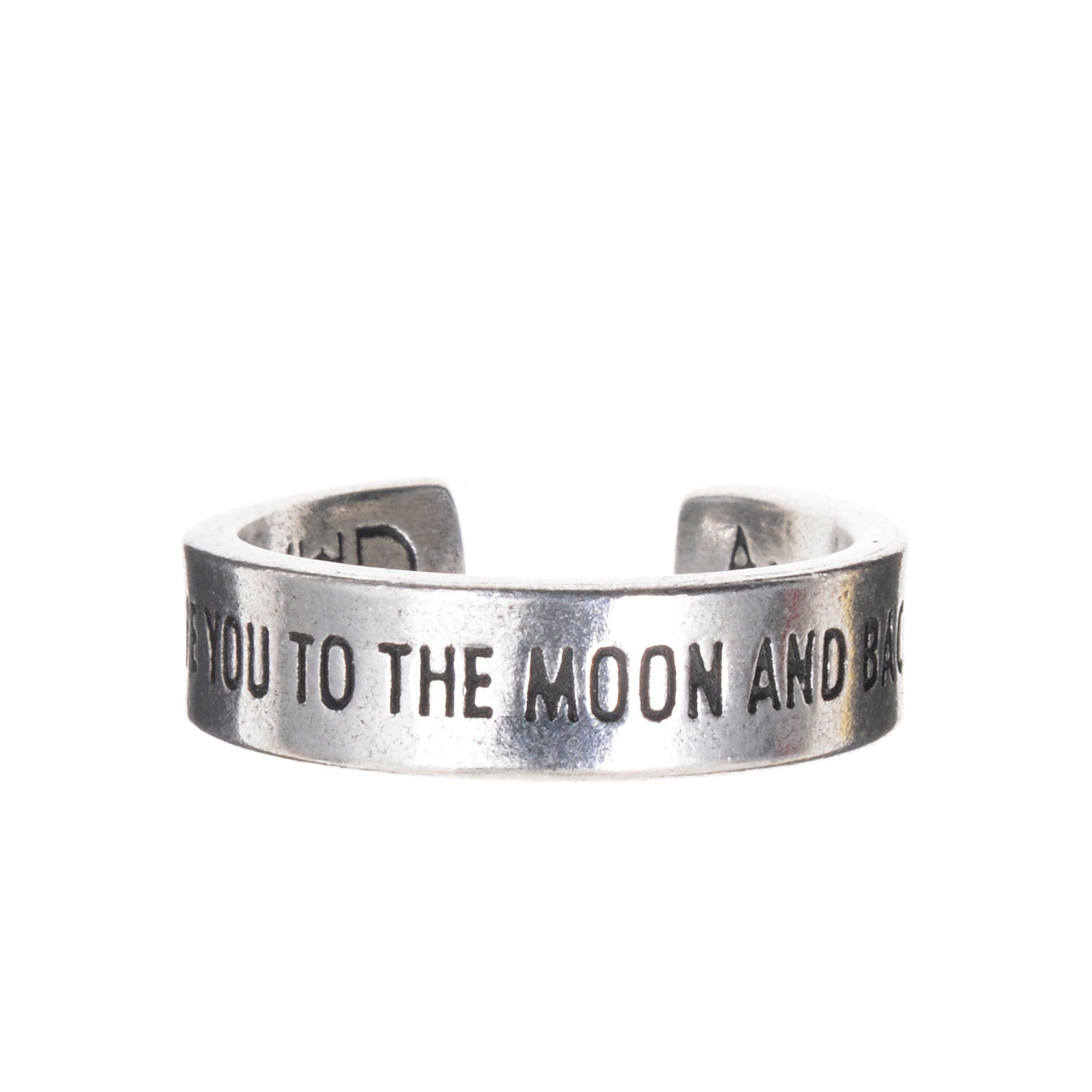 InspireRings - Moon and Back - Whitney Howard Designs
