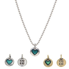 Kind Heart on Necklace