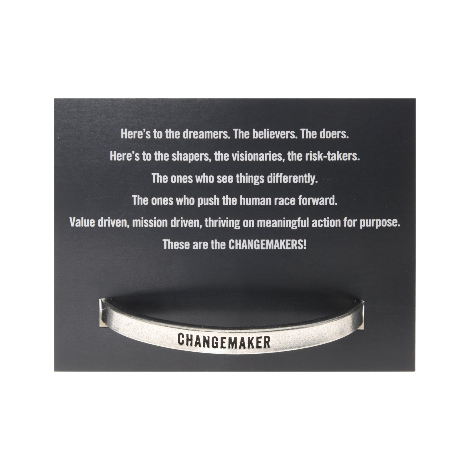Changemaker Quotable Cuff - Whitney Howard Designs