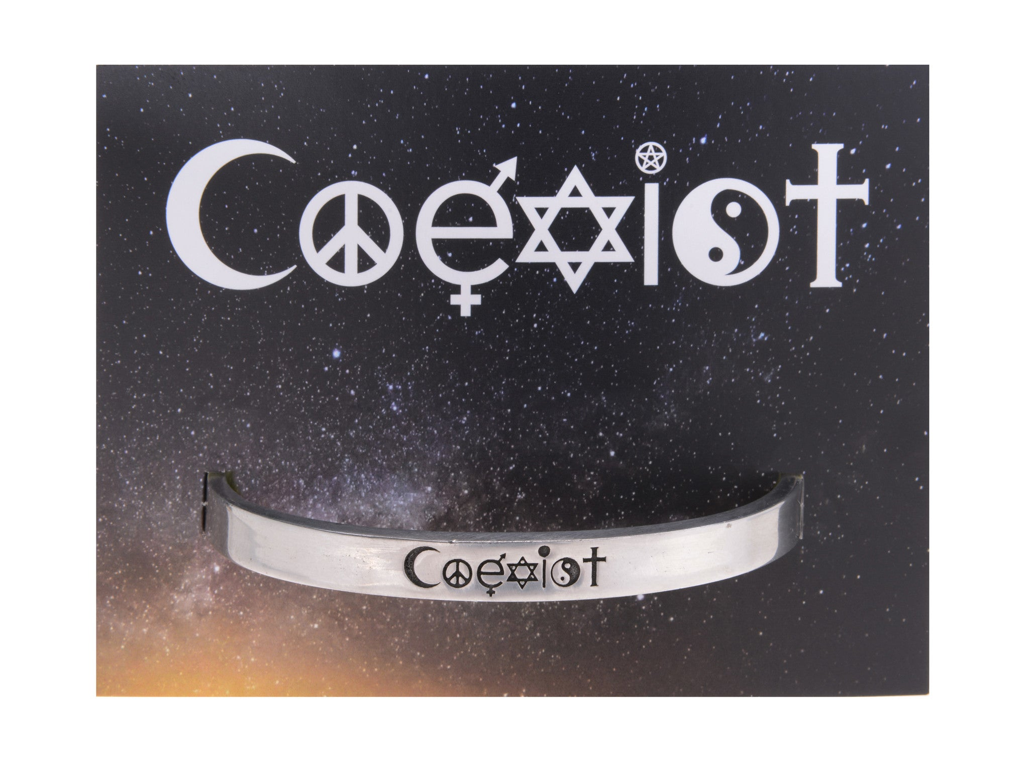 Coexist Quotable Cuff Bracelet - Whitney Howard Designs