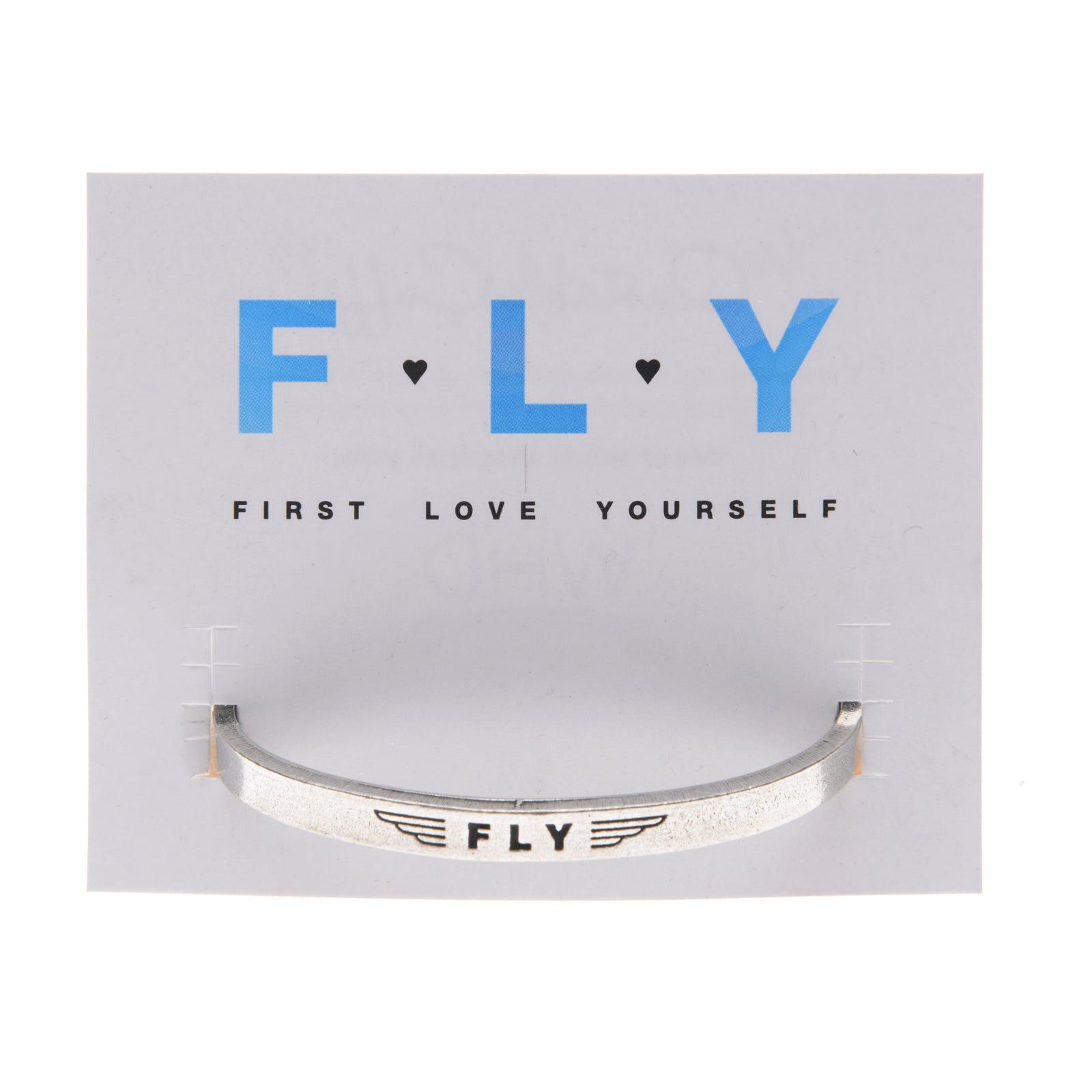 FLY (inside - First Love Yourself) Quotable Cuff - Whitney Howard Designs