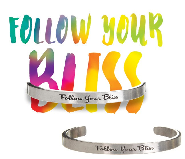 Follow Your Bliss Quotable Cuff - Whitney Howard Designs