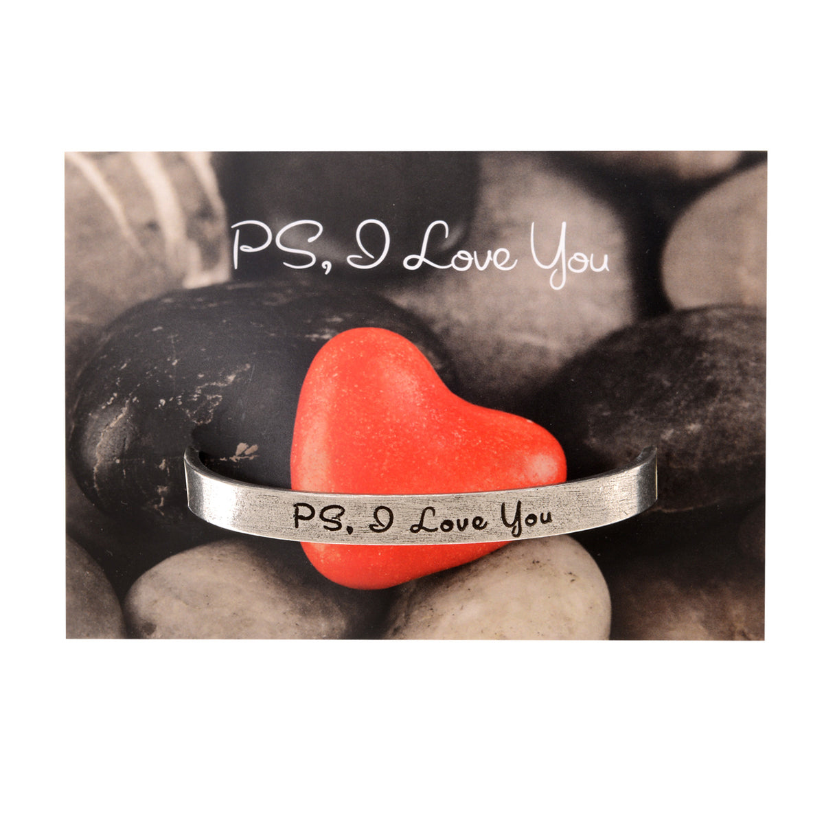 PS, I Love You Quotable Cuff Bracelet - Whitney Howard Designs