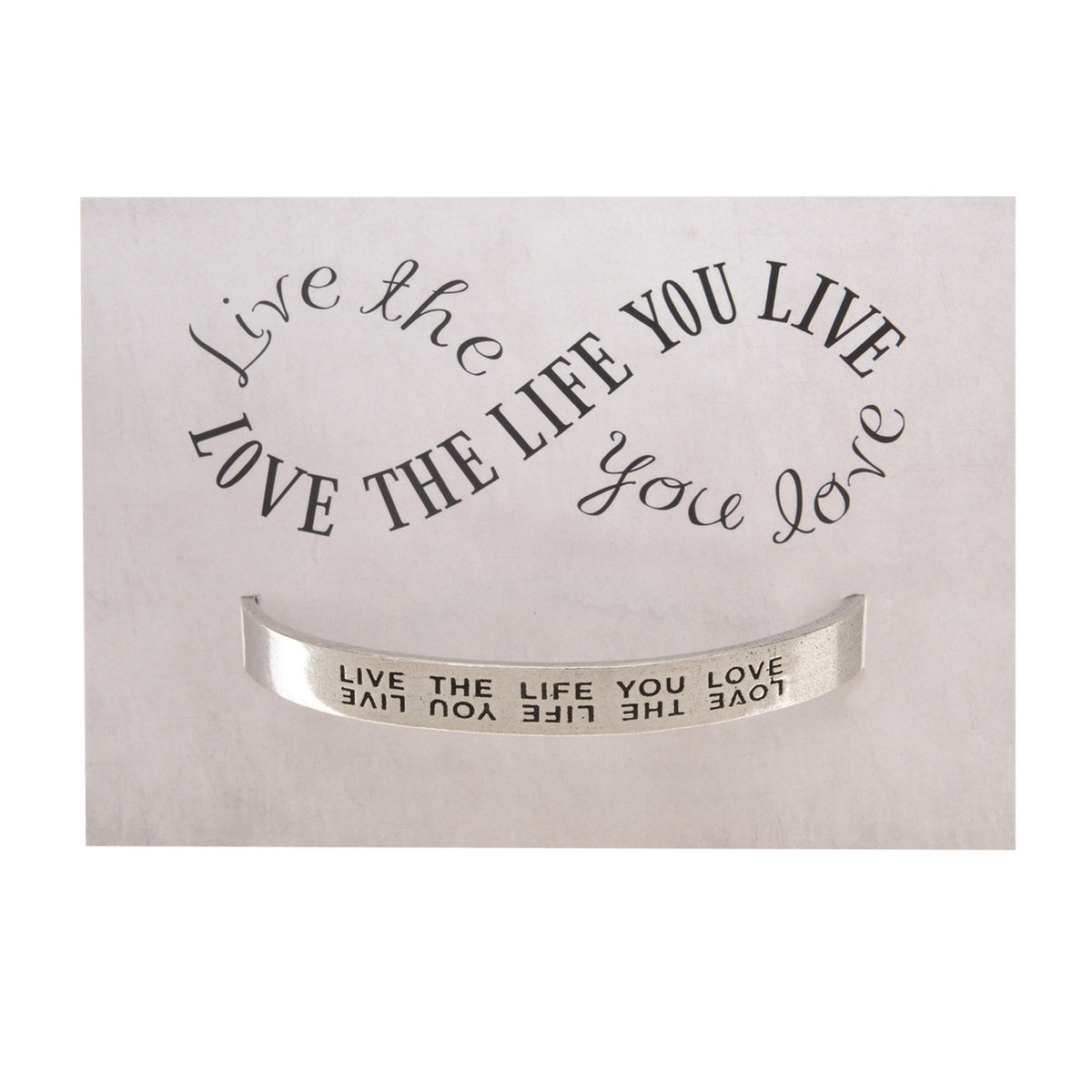 Live the Life You Love Quotable Cuff Bracelet - Whitney Howard Designs
