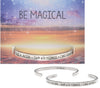 Be Magical Quotable Cuff - Whitney Howard Designs