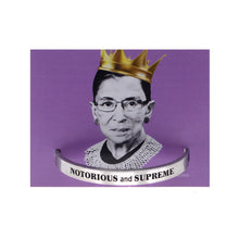 Notorious and Supreme Quotable Cuff Bracelet - Ruth Bader Ginsburg