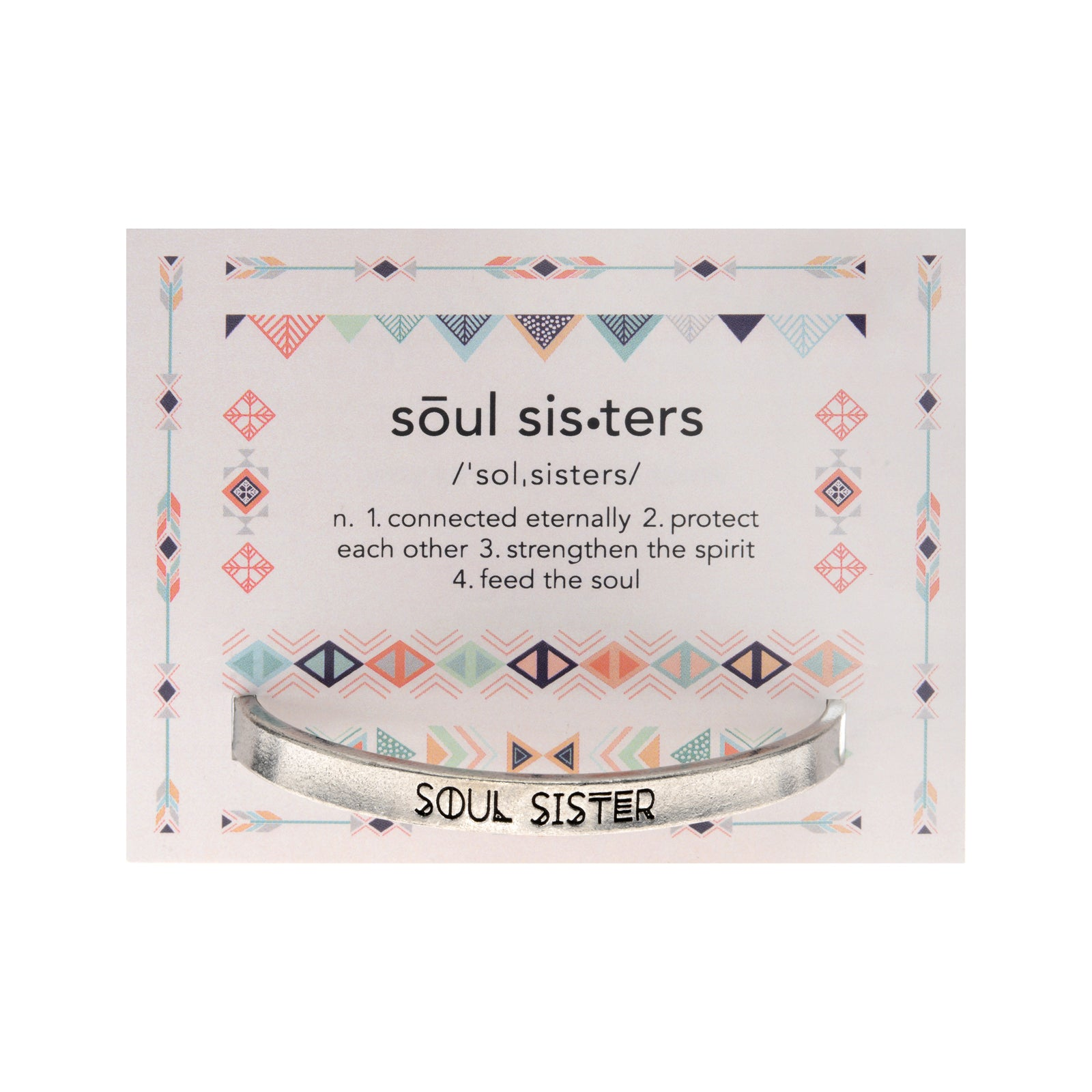 Soul Sister Quotable Cuff - Whitney Howard Designs