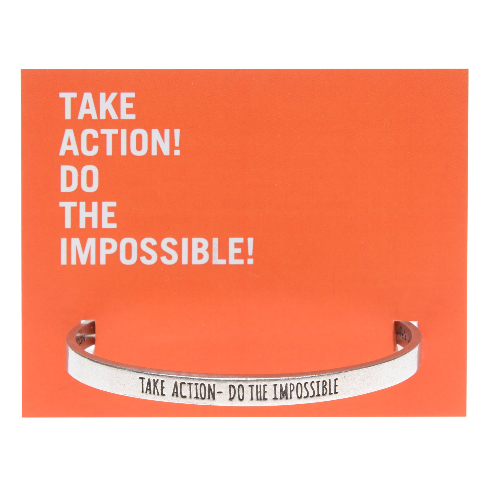 Do The Impossible Quotable Cuff - Whitney Howard Designs