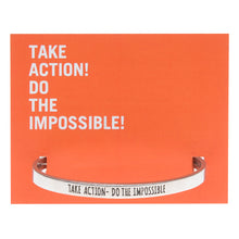 Greta Thurnberg - Take Action, Do The Impossible Quotable Cuff - Whitney Howard Designs