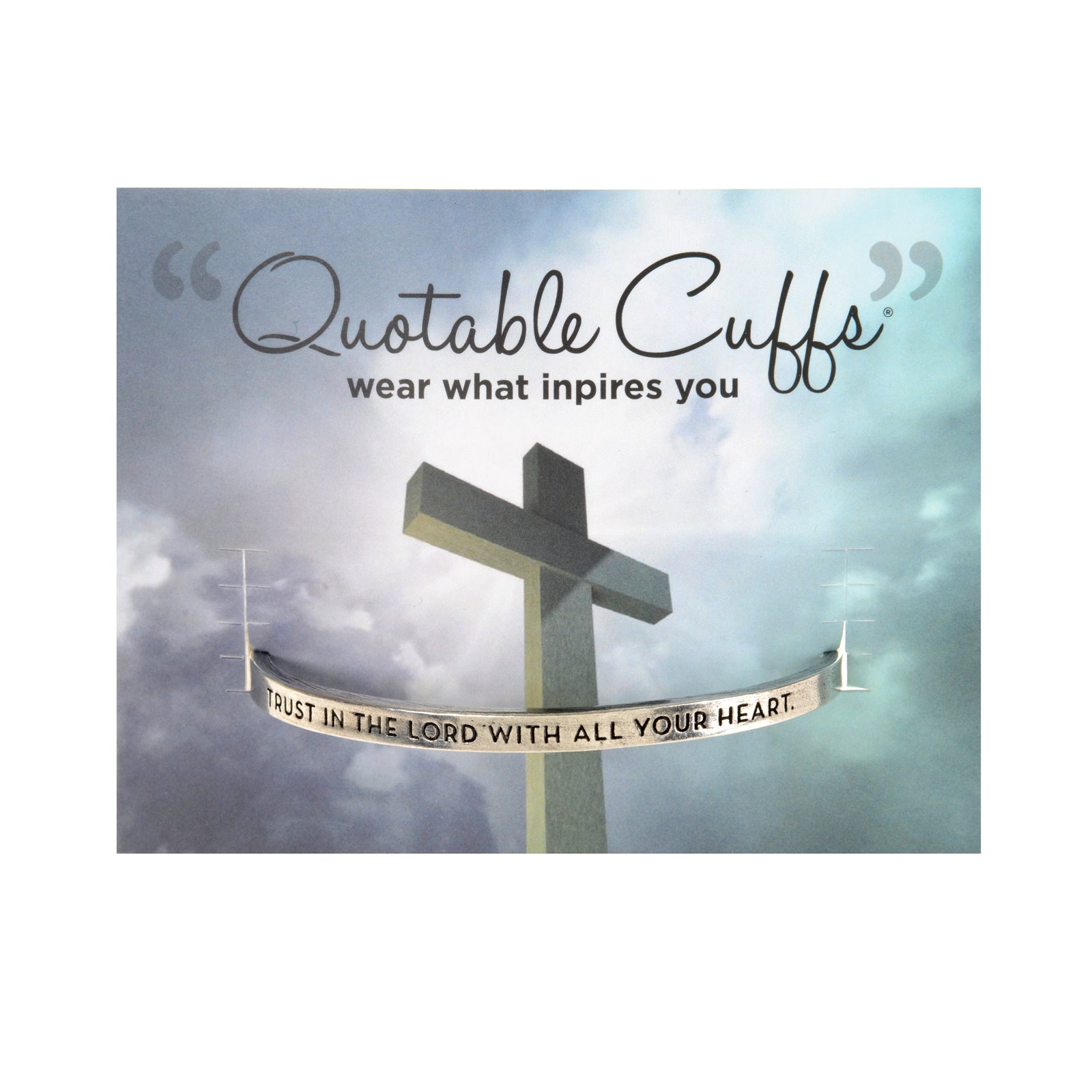 Trust in the Lord Quotable Cuff - Whitney Howard Designs