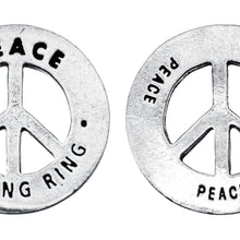 Peace Blessing Ring (on back - peace peace peace) - Whitney Howard Designs