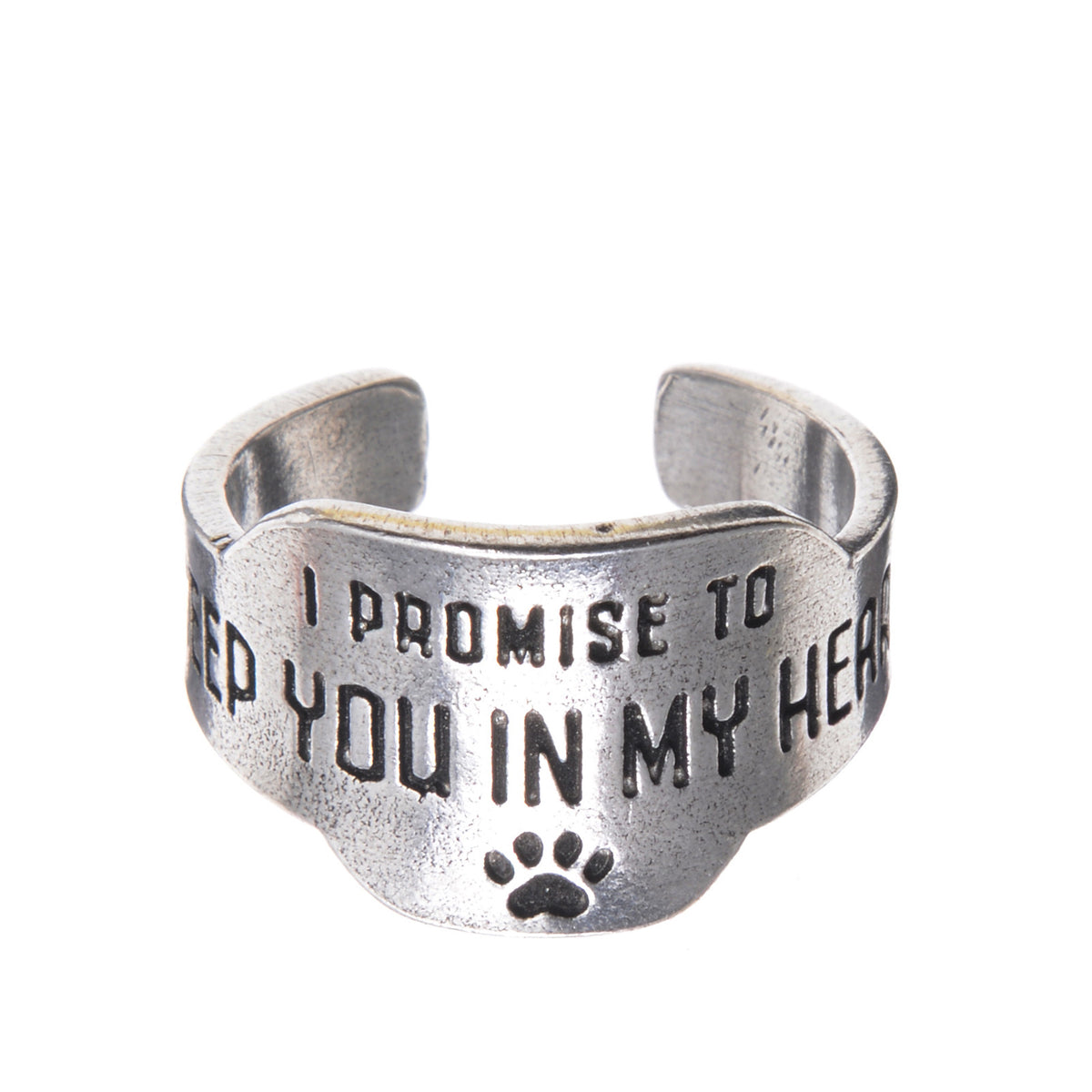 Keep you in my heart <small>Promise Ring</small> - Whitney Howard Designs