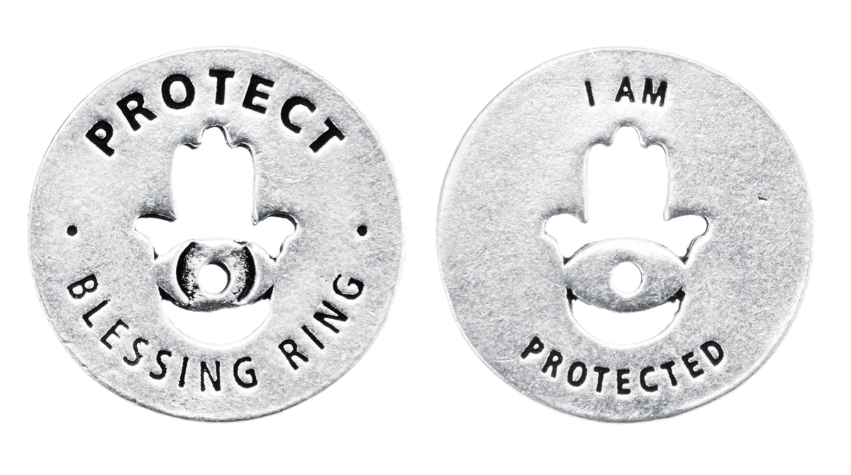 Protect Blessing Ring (on back - I am protected) - Whitney Howard Designs
