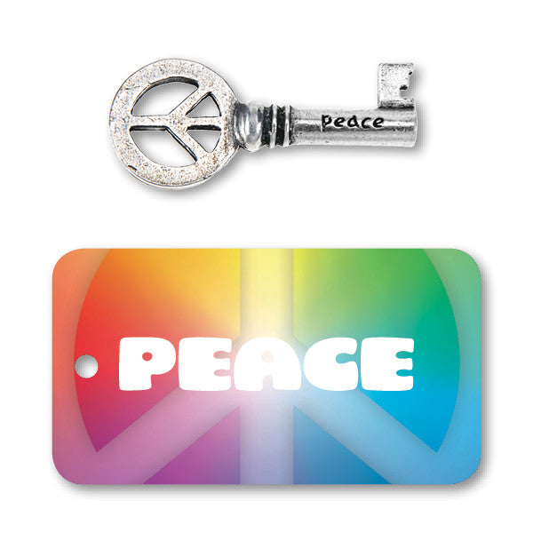 Peace Key - Whitney Howard Designs