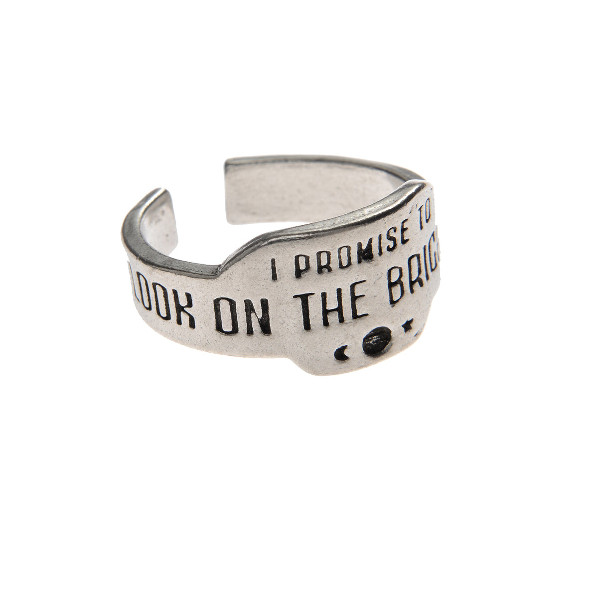 Look On The Bright Side Promise Ring