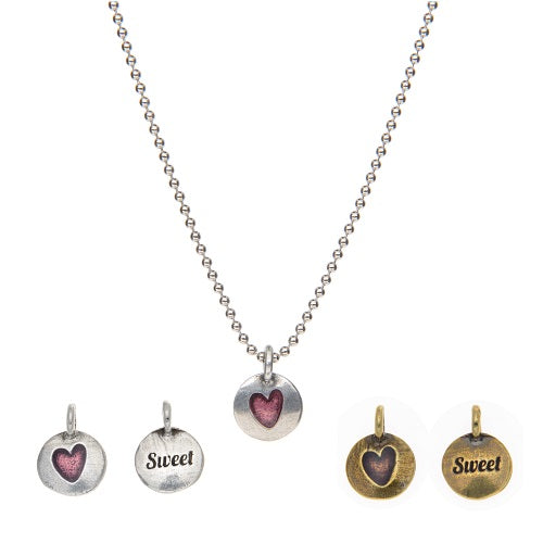 Sweet - Hearts of Gold Necklace - Whitney Howard Designs