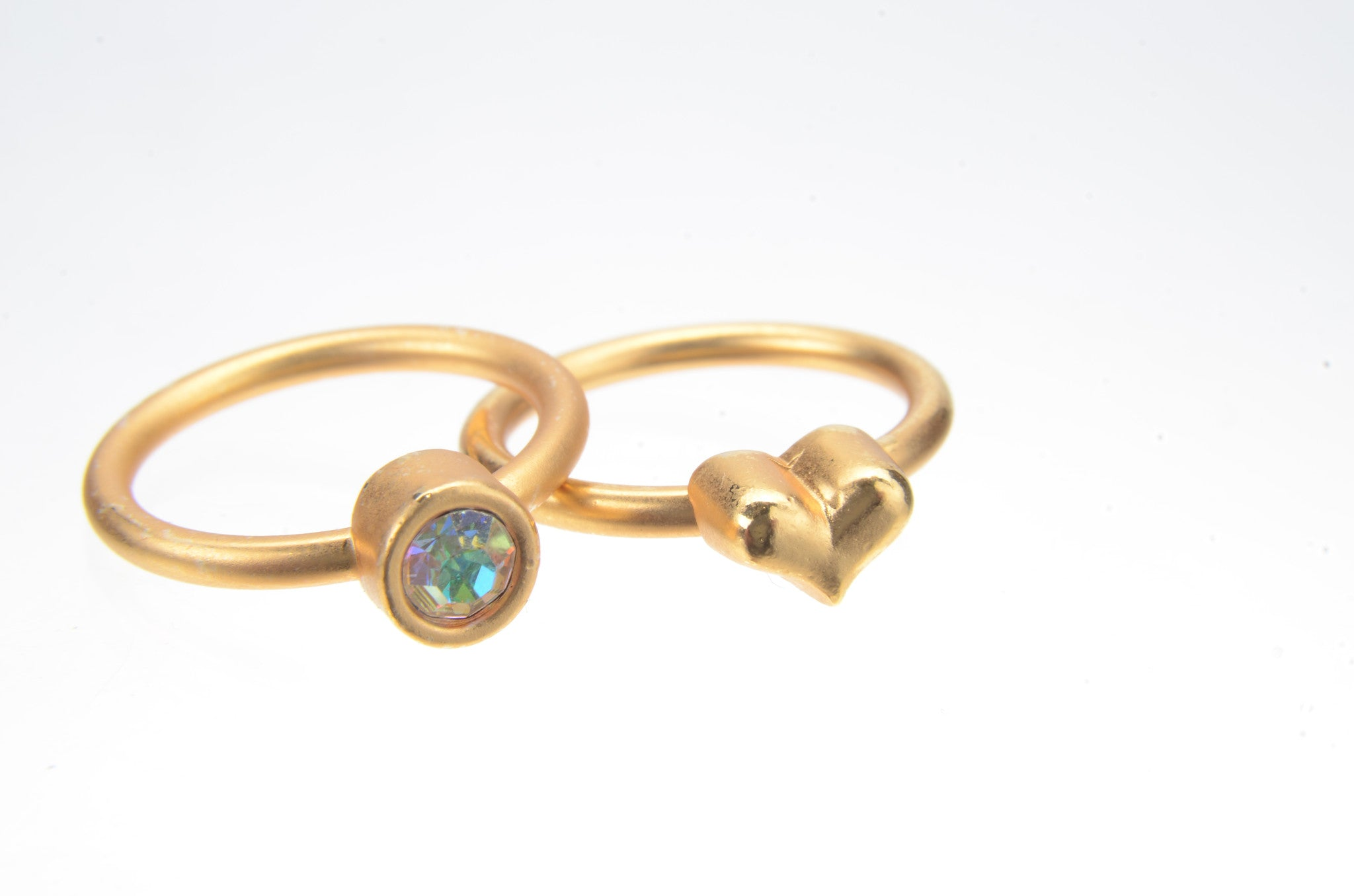 October Opal Birthstone Ring Set - Whitney Howard Designs