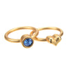September Sapphire Birthstone Ring Set - Whitney Howard Designs