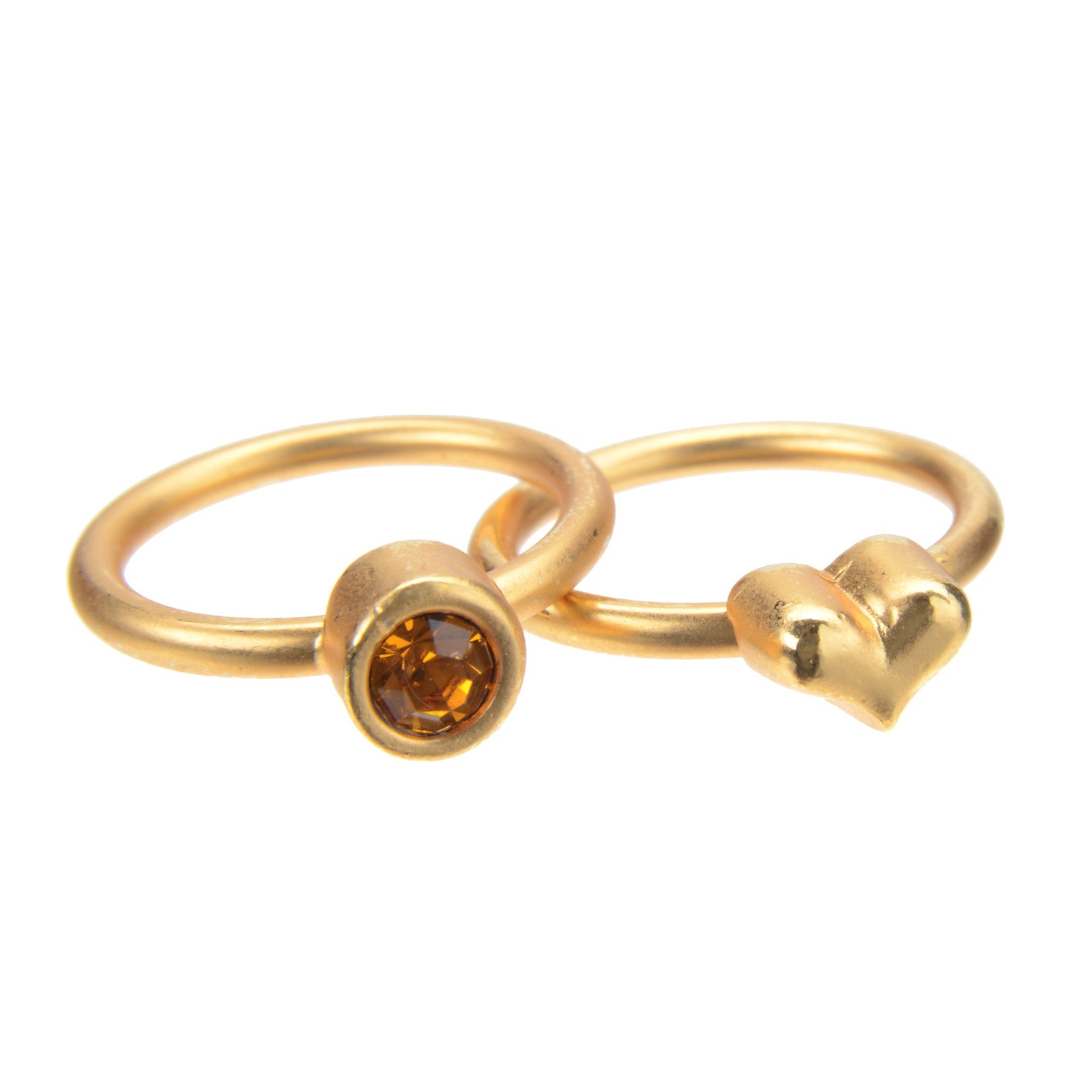 November Topaz Birthstone Ring Set - Whitney Howard Designs