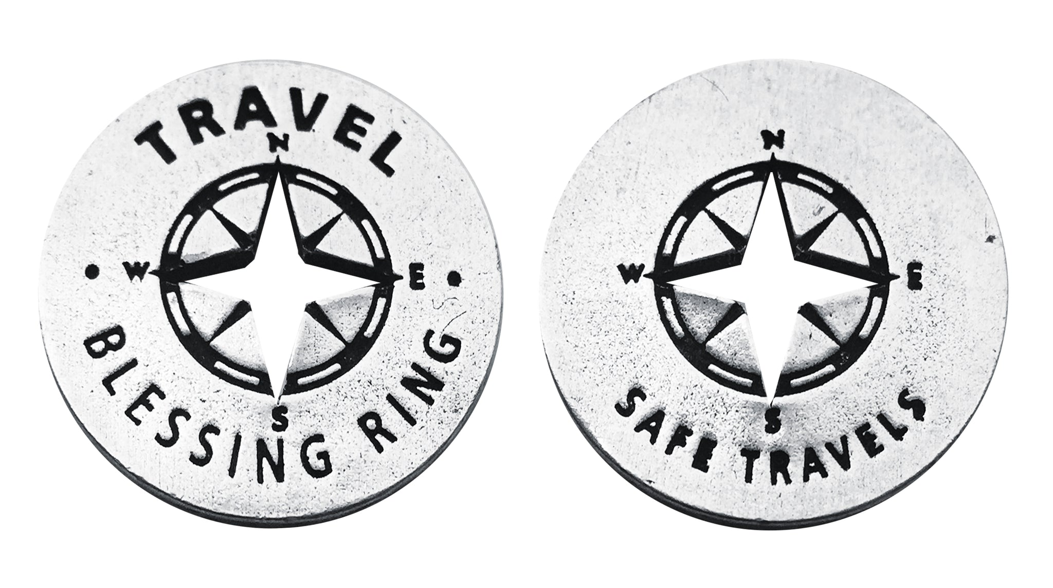 Travel Blessing Ring (on back - have a safe trip) - Whitney Howard Designs