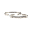 Unconditional Love Quotable Cuff Bracelet