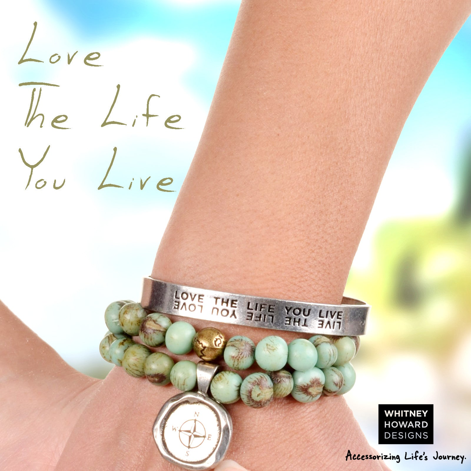 Live the Life You Love - Whitney Howard Designs