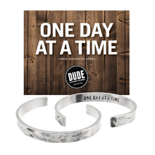 One Day at a Time DUDE Cuff Bracelet - Whitney Howard Designs
