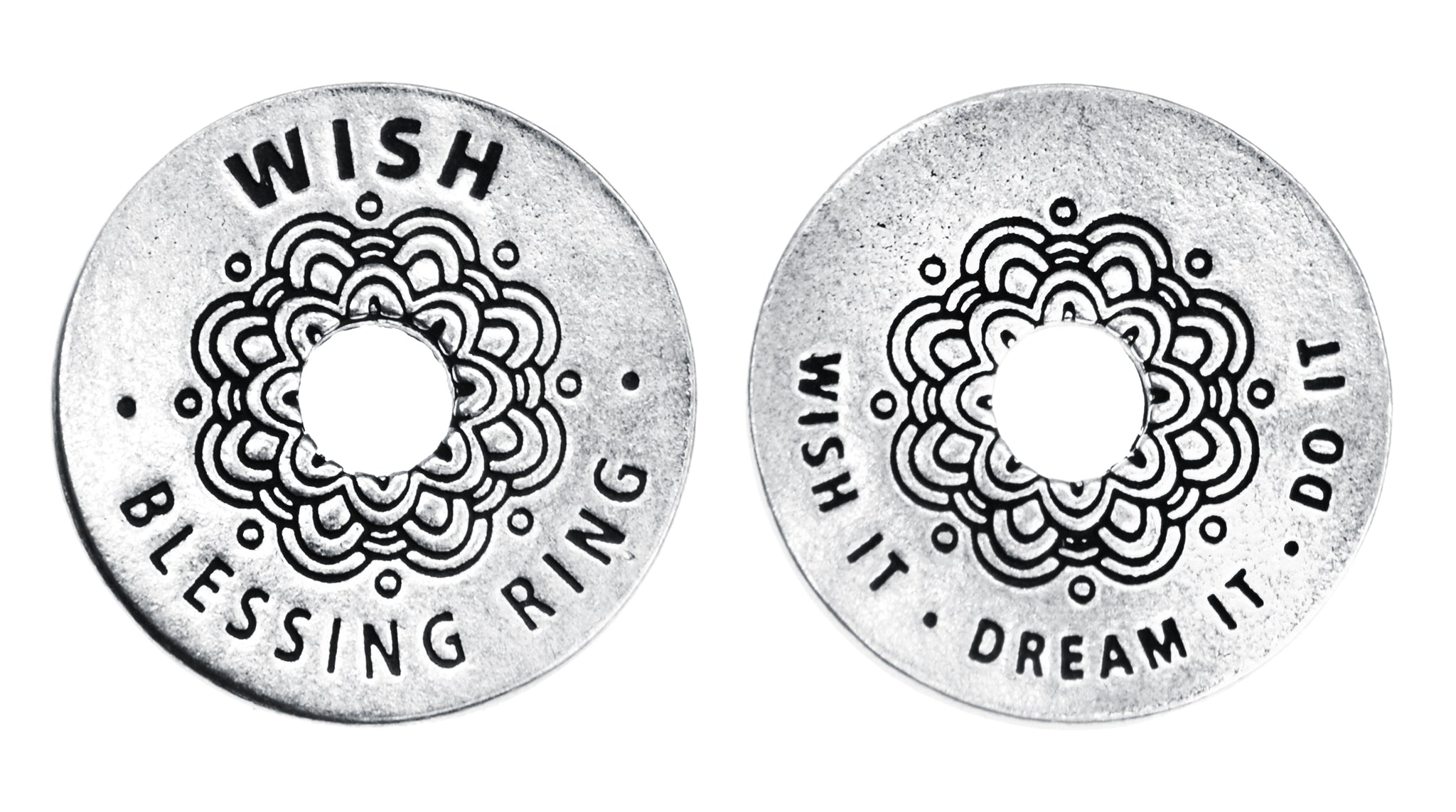 Wish Blessing Ring (on back - wish it, dream it, do it) - Whitney Howard Designs