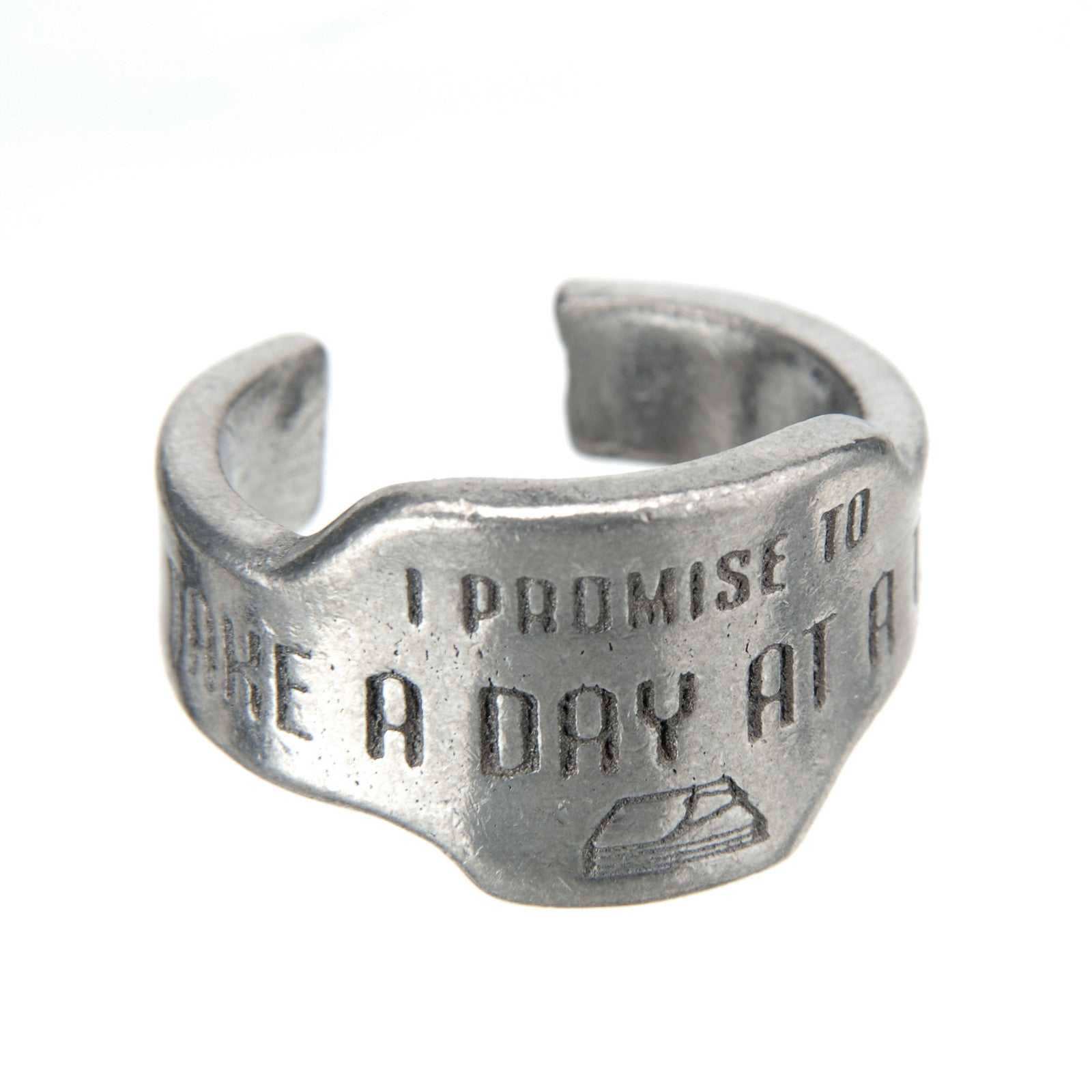 Take A Day At A Time Promise Ring - Whitney Howard Designs