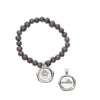 Acai Seeds of Life Bracelet with Wax Seal - San Francisco Fog