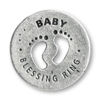 Baby Blessing Ring (on back - bundle of joy) - Whitney Howard Designs