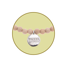Walking Strong Bracelet - Small Blonde Wood Beads - Whitney Howard Designs