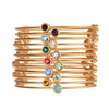 Birthstone Bangles - Whitney Howard Designs